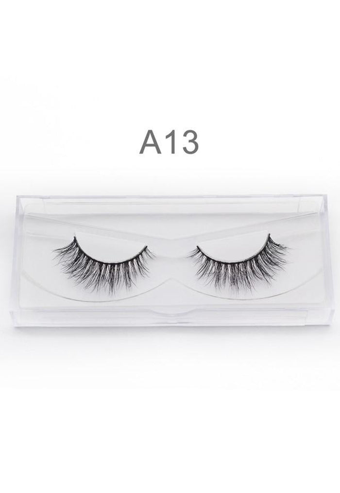 3D Mink False Eyelashes Handmade A13