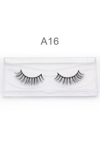 3D Mink False EyeLashes Handmade A16