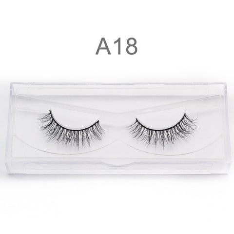 3D Mink False EyeLashes Handmade