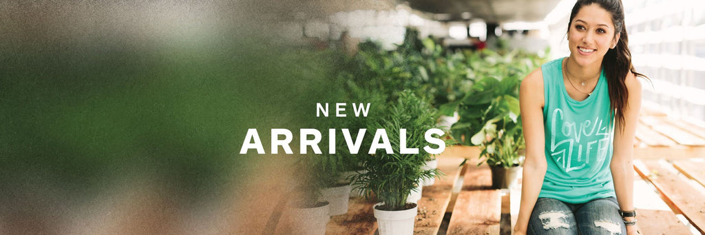 New Arrivals front page