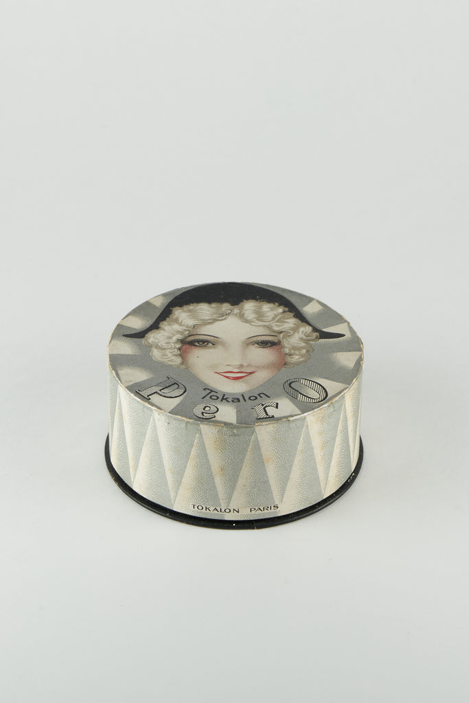 Vintage Powder Box #P