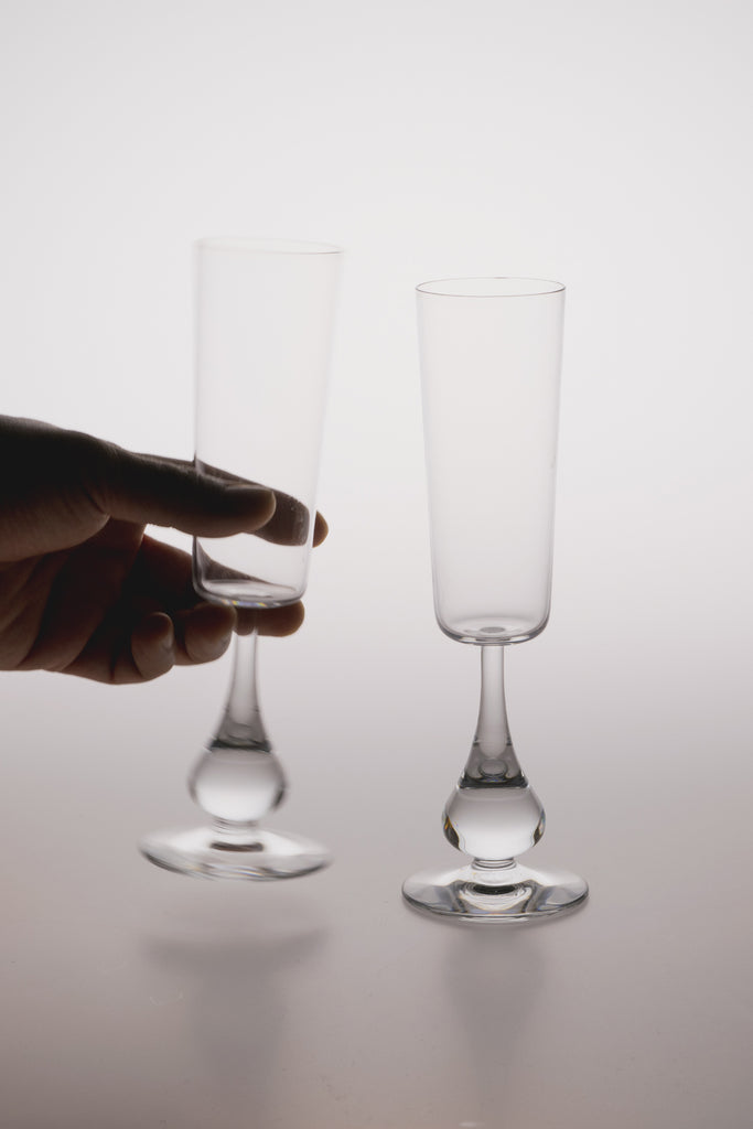 José Champagne Glass by Baccarat