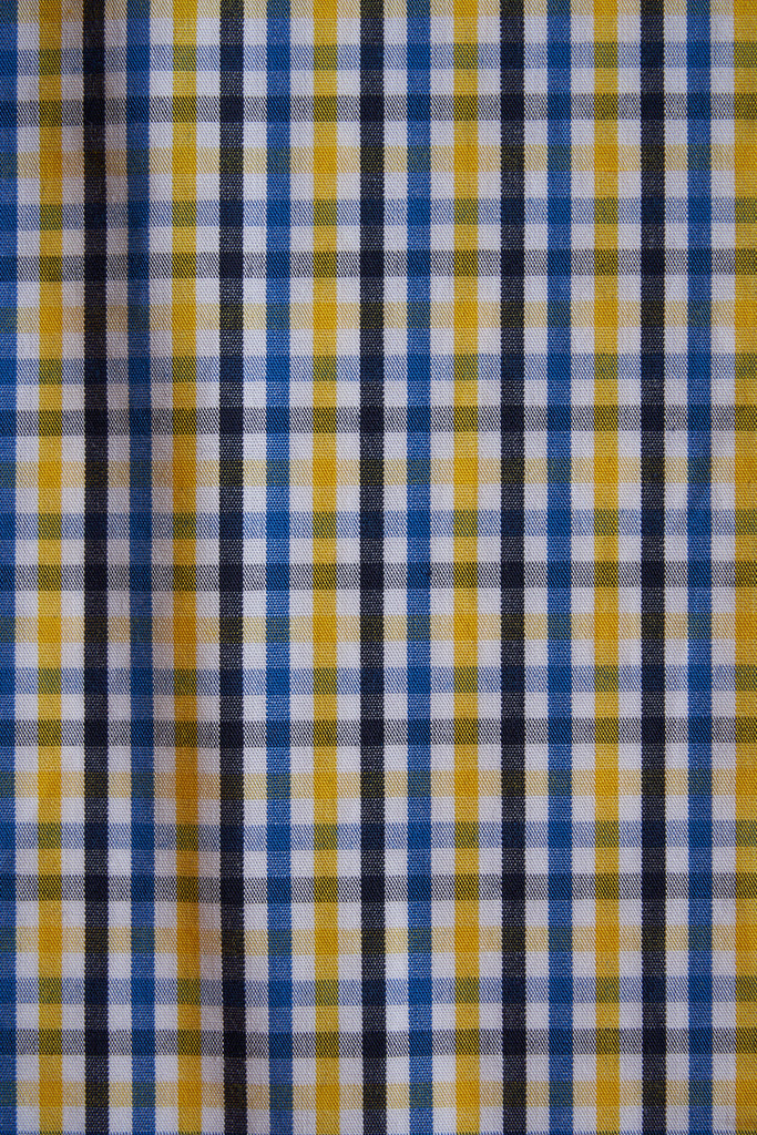 SHIRTSHIRT - Yellow Check / Nº105