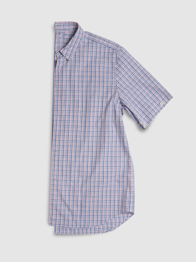 SHIRTSHIRT - Pink Check / Nº107
