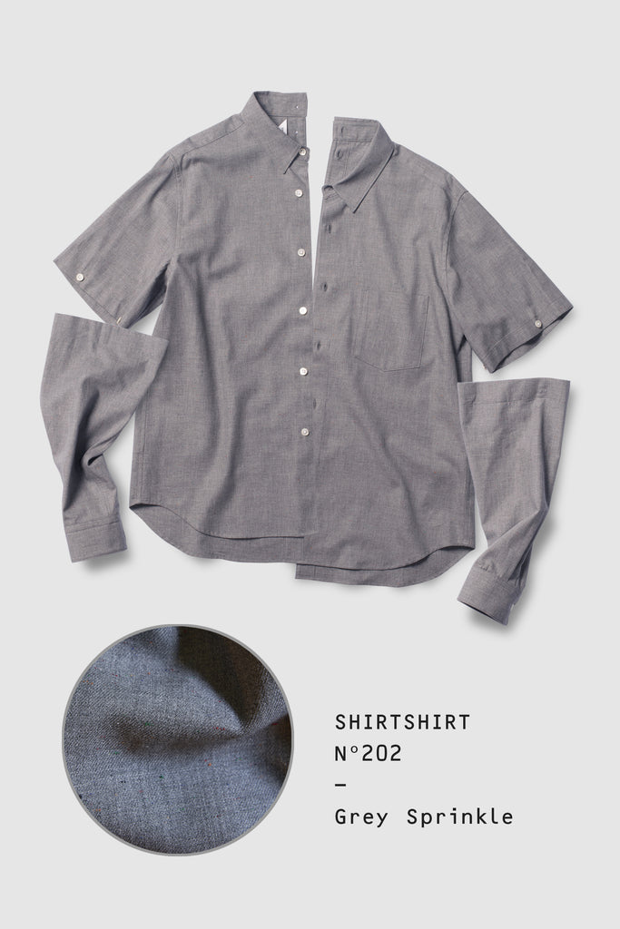 SHIRTSHIRT - Grey Sprinkle / Nº202