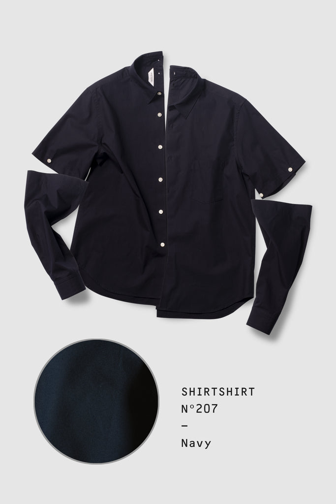SHIRTSHIRT - Navy / Nº207