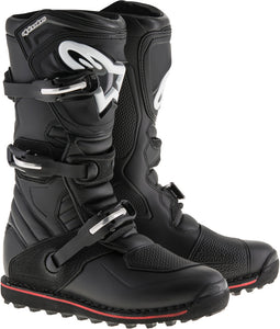 ALPINESTARS | TECH-T BOOTS BLACK/RED SZ 05 | 482-43105