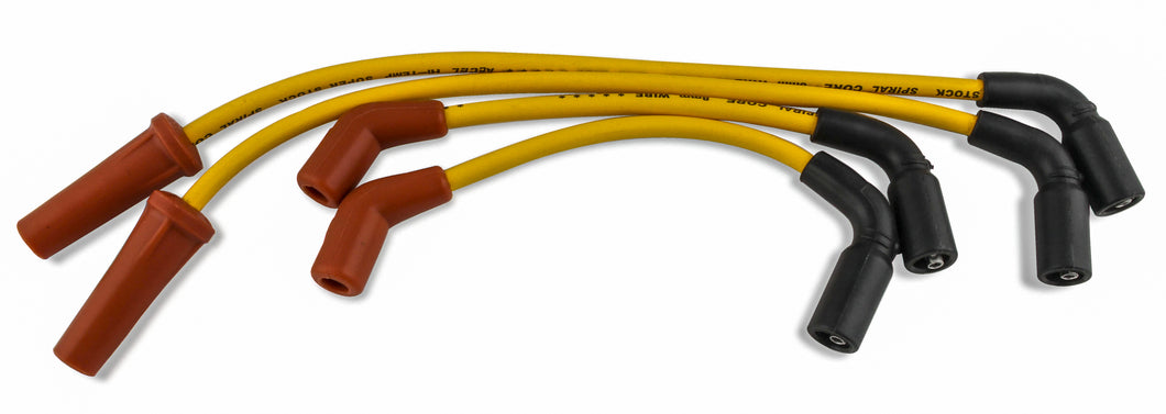 ACCEL | 8MM WIRES SOFTAIL `18-UP YELLOW | 274-0087