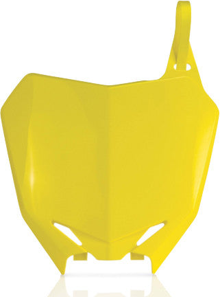 ACERBIS | FRONT NUMBER PLATE YELLOW | 21136-30231