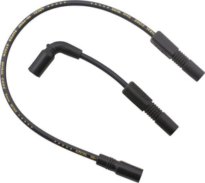 ACCEL | SPIRAL CORE WIRE SET 8.0MM BLACK | 274-0135