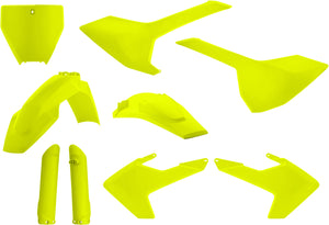 ACERBIS | FULL PLASTIC KIT FLUORESCENT YELLOW | 24626-04310