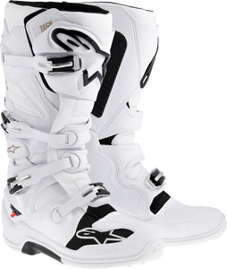 ALPINESTARS | TECH 7 BOOTS WHITE SZ 14 | 482-20314