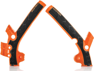 ACERBIS | X-GRIP FRAME GUARD ORANGE/BLACK | 24495-25225