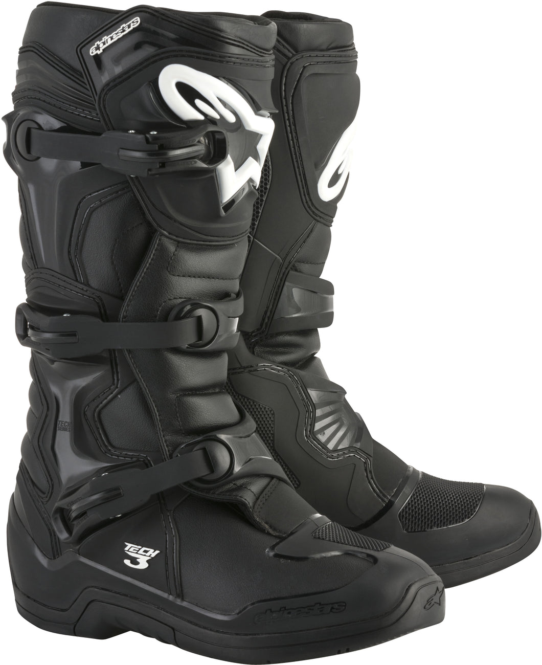 ALPINESTARS | TECH 3 BOOTS BLACK SZ 11 | 482-04111