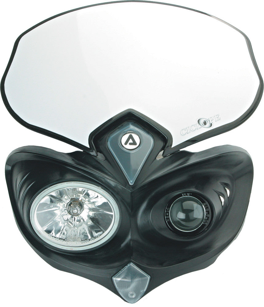 ACERBIS | CYCLOPS HEADLIGHT BLACK | 1430-0205
