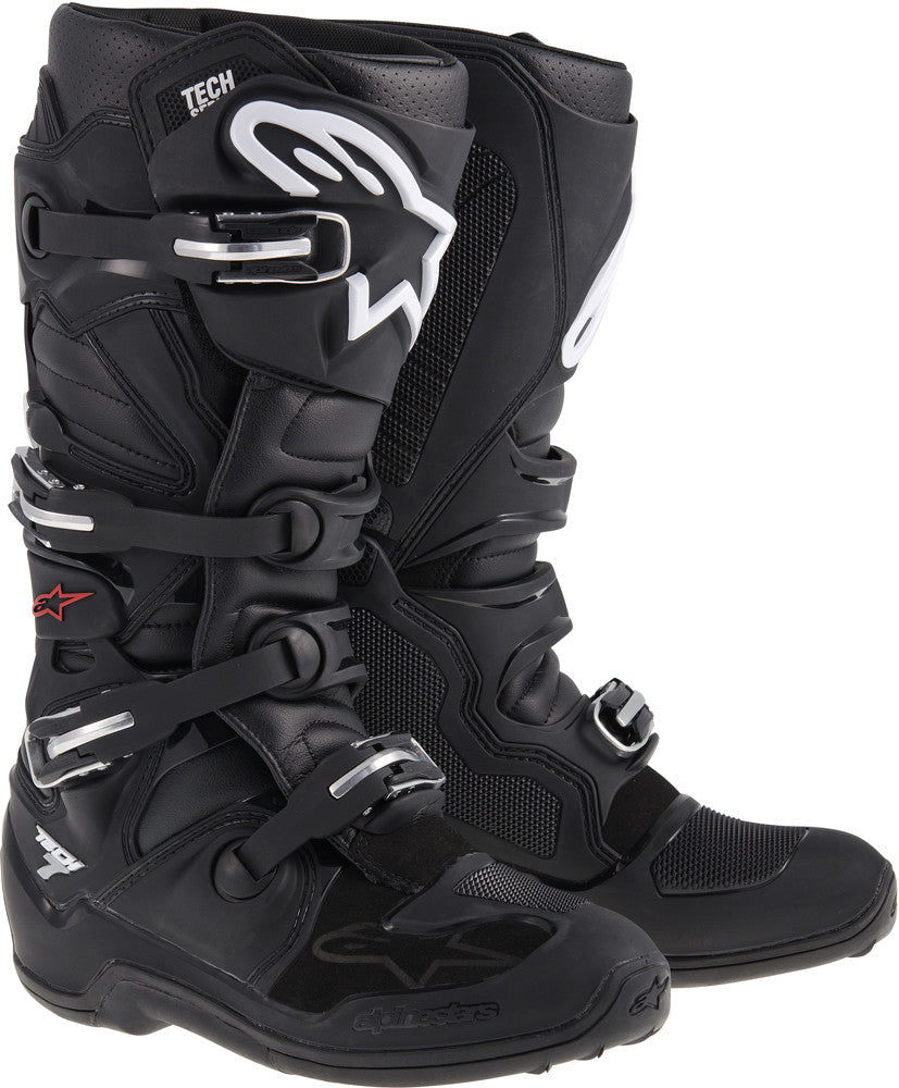 ALPINESTARS | TECH 7 BOOTS BLACK SZ 05 | 482-20105
