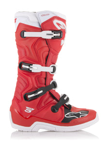 ALPINESTARS | TECH 5 BOOTS RED/WHITE SZ 05 | 482-30905