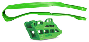 ACERBIS | GUIDE/SLIDER KIT 2.0 GREEN | 24660-40006
