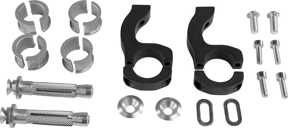 ACERBIS | X-STRONG MOUNTING KIT BLACK | 21420-10001