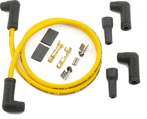 ACCEL | 2 PLUG WIRE SET 8.8MM YELLOW | 274-0125