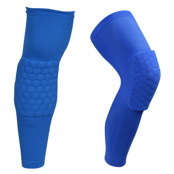 knee pads for Adult 2018 Brand safety basketball Antislip honeycomb pad Leg knee support calf compression kneecap cycling knee protector R09