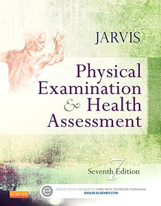 Jarvis Physical Examination And Health Assessment 7th edition 7e By Carolyn Jarvis PhD APN CNP | Seventh Edition JARVIS