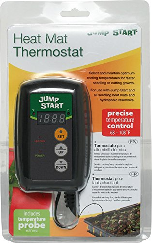 Reptile Thermostat | Heat Digital Controller Thermostat For Heat Mats, Seed Germination, Reptiles and Brewing