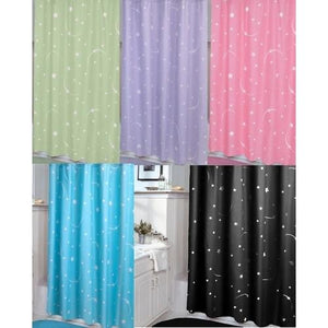 STELLAR - MOON AND STAR SHOWER CURTAIN