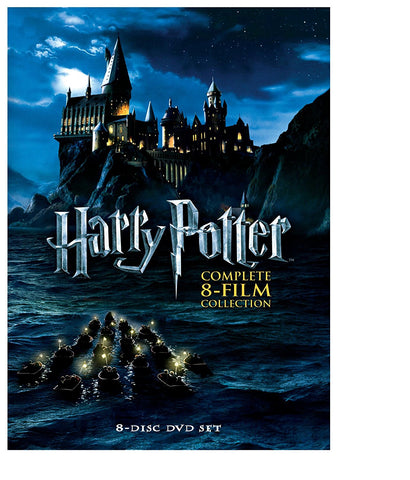 Harry Potter - The Complete 8-Film Collection DVD 8 Set New Release 2017