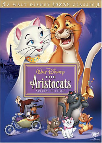 The Aristocats DVD Special Disney Movie The Aristocats Special Edition 2008 | The Aristocats Disney Gold Classic Collection 1970 Roddy Maude-Roxby Gary Dubin Carole Shelley Dean Clark (II) Scatman Crothers Wolfgang Reitherman