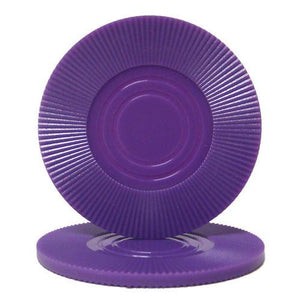 Purple Interlocking Radial Chip