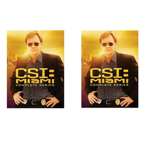 CSI Miami Complete Series Season 1-10 1 2 3 4 5 6 7 8 9 10 | New 65-Set DVD Set Region 1 New Release 2017
