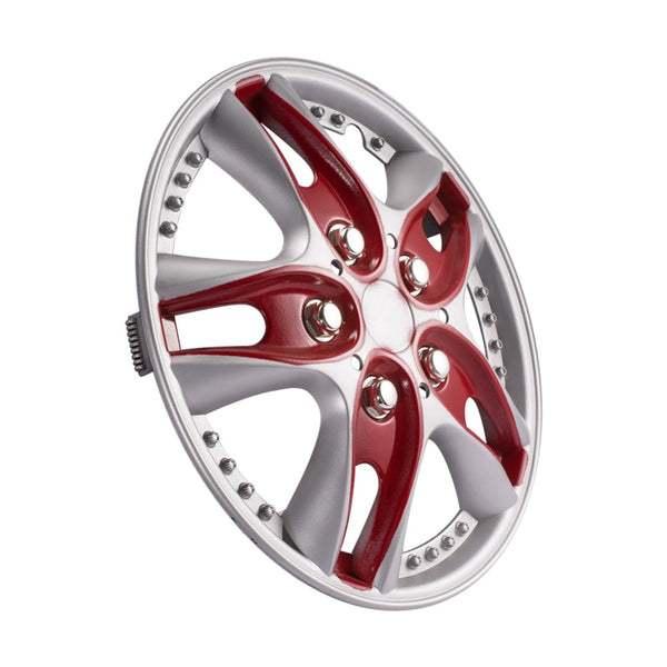 Car Wheel Hub Covers Hub Trim Cover Red Car Vehicle Wheel Rim Skin Cover 13 inch Hubcap Wheel cover