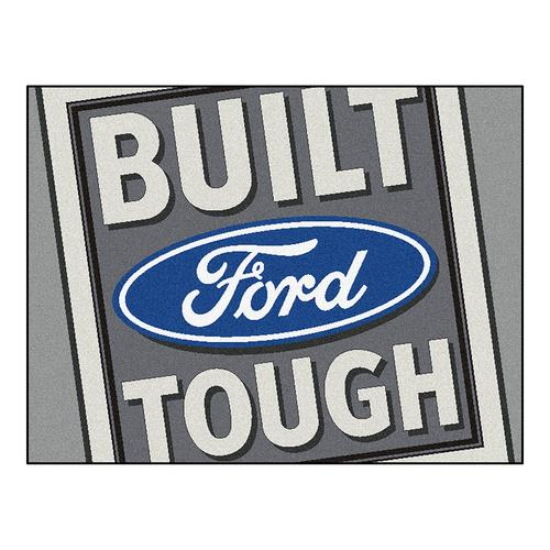 "Ford Built Tough  All-Star"" Floor Mat (34""x45"")"""