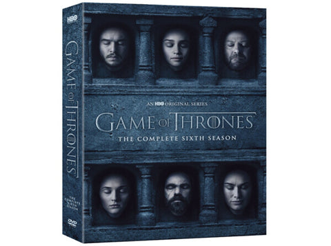 Game of Thrones |  Game of Thrones Complete Series 6th Season DVD Box Set Various 5-Set DVD Region 1 New Release 2017