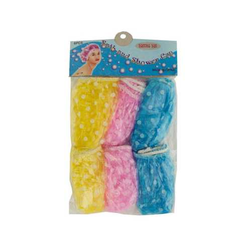 Bath & Shower Cap Set ( Case of 72 )