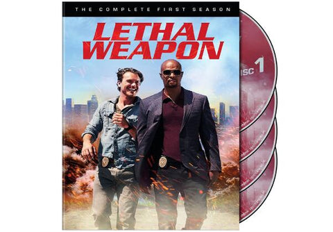 Lethal Weapon Complete First Season Lethal Weapon TV Show Season 1 Cast Movie | 4 DVD-Set The Complete First Season