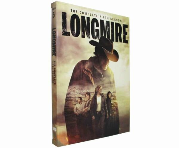 Longmire Season 5 DVD Series The Complete Fifth Season | DVD Boxed Set By Robert Taylor Katee Sackhoff