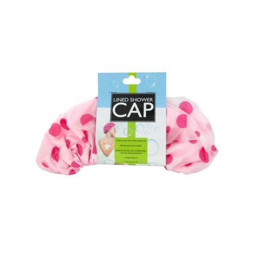 Microfiber Lined Shower Cap ( Case of 24 )