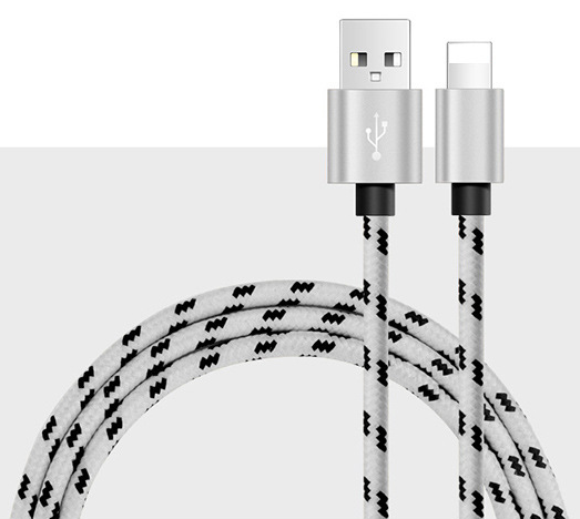 Premium USB Charger Charging Cable Cord For iPhone 6 6S 5 S 7 iPad Phone USB Data Sync Charger Cables 1m/2m 10 PCS