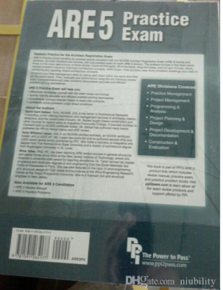 ARE 5 Practice Exam for the Architect Registration Exam Paperback - 9781591265177