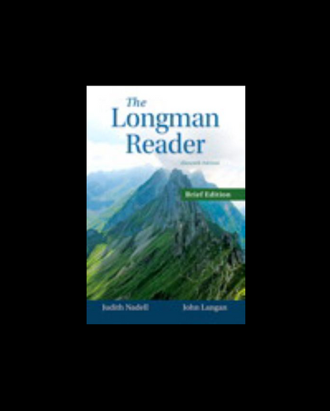 The Longman Reader, Brief Edition by Langan,Nadell, Eliza 11e New Paperback 2015 - 978-0133862959