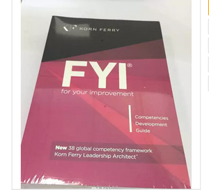 FYI: For Your Improvement - Competencies Development Guide, 6th Edition Paperback – September, 2014 by Heather Barnfield, Michael M. Lombardo