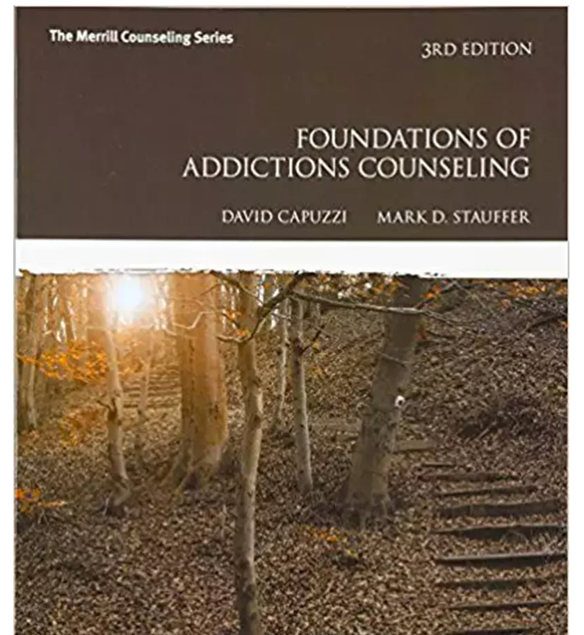 Foundations of Addictions Counseling by Mark D. Stauffer and David Capuzzi 3rd Edition - 978-0547179629