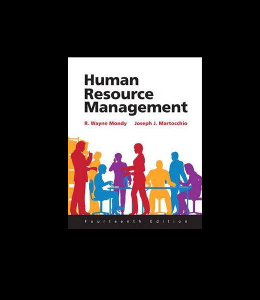 Human Resource Management 14th Edition by R. Wayne Dean Mondy, Joseph J. Martocchio Paperback