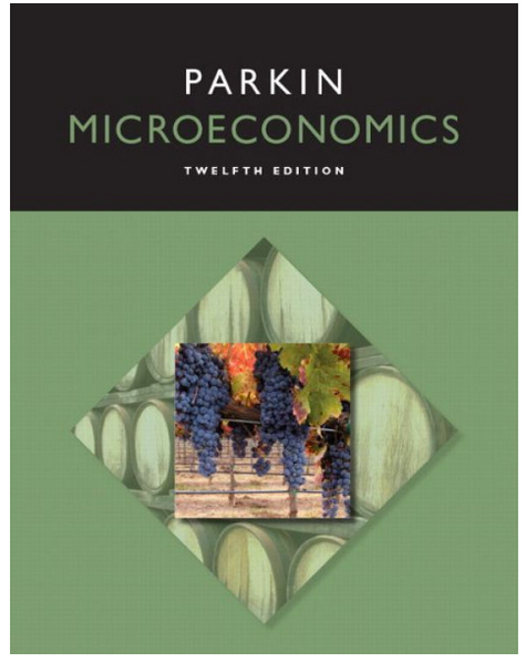 Microeconomics Pearson Series in Economics12th Ed. by Parkin M. Paperback New - 978-0133872293