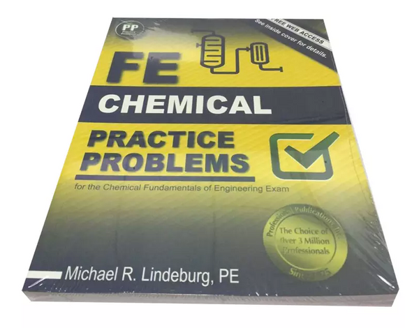 FE Chemical Practice Problems by Michael R. Lindeburg (2016, Paperback) New Edition - 978-1591264460