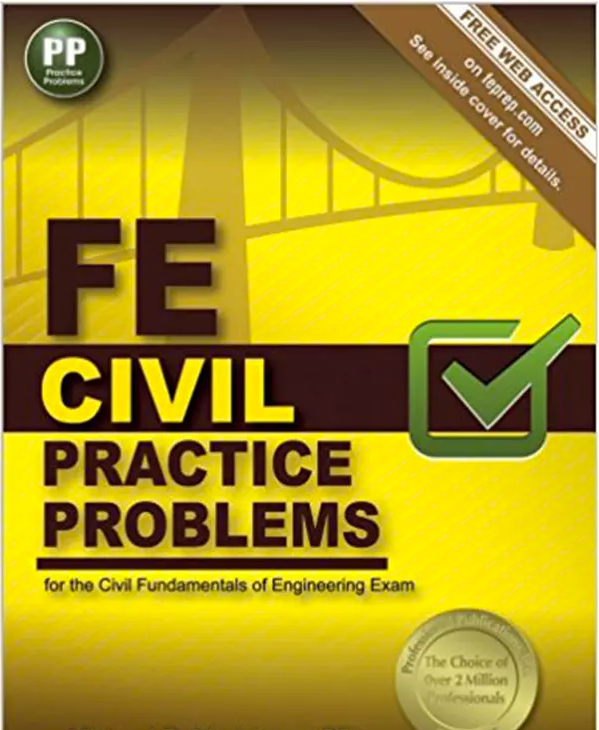 FE Civil Practice Problems Pap/Psc Edition by Lindeburg PE (New Paperback, 2014) - 978-1591264408