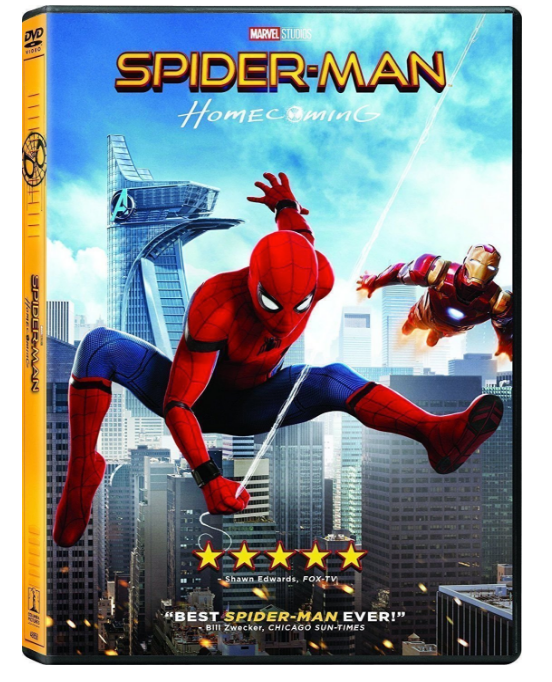 Spiderman Homecoming DVD Movie By Jon Watts | Spider-Man - Homecoming 1-DVD Region 1 New Release 2017