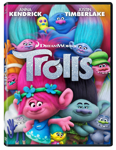 Trolls Troll DVD Movie By Mike Mitchell | Trolls Movie CD Series 1-DVD Region 1 New Release 2017